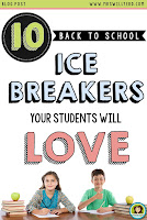 10 Back to School Ice Breakers Your Students Will Love from www.mrswillyerd.com