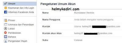 Cara mudah mengetahui email akun facebook