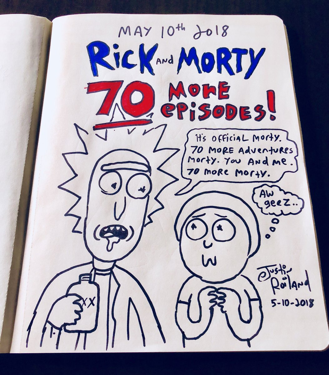 The Wertzone: RICK & MORTY renewed for 70 episodes