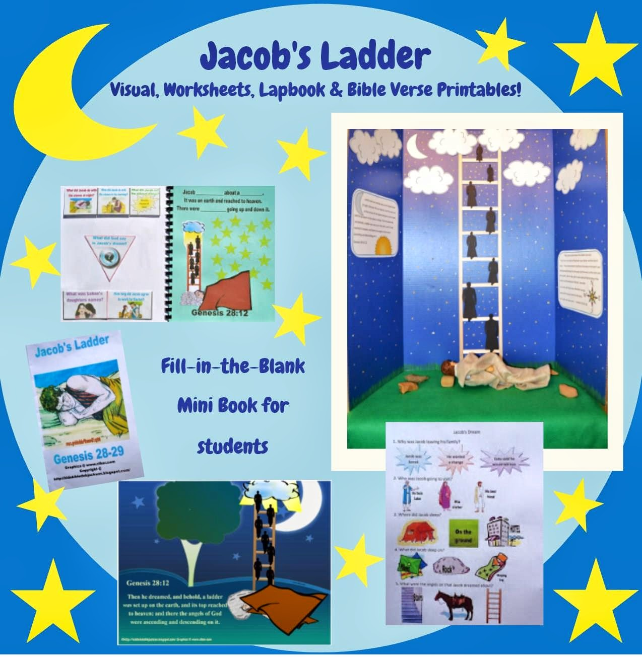 Bible Fun For Kids Genesis Jacob S Ladder