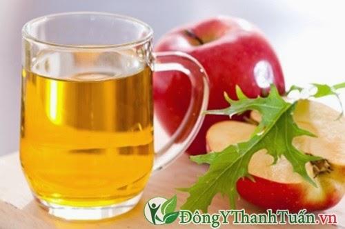 Khử mùi hôi miệng bằng nước giấm táo