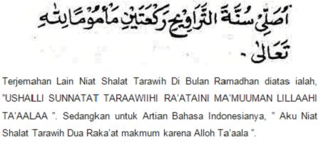 Tata Cara Sholat Tarawih Ramadhan Dan Bacaannya Yang Benar