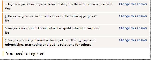 GDPR self assessment tool