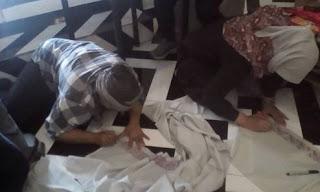 Brother Gathering Padukan Hasil Menjahit Dengan Doodle