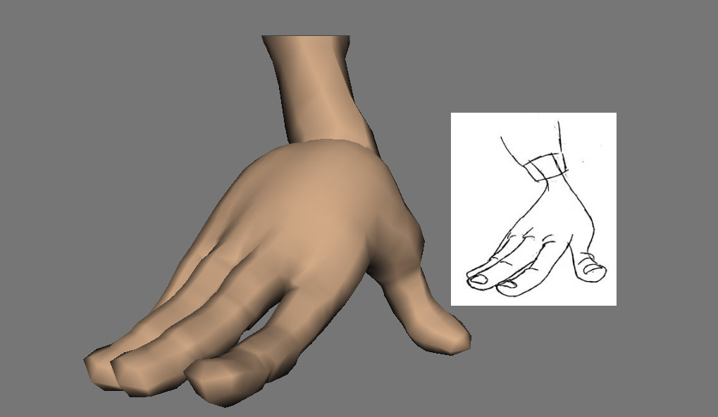hand poses tyndall 3d animation blog