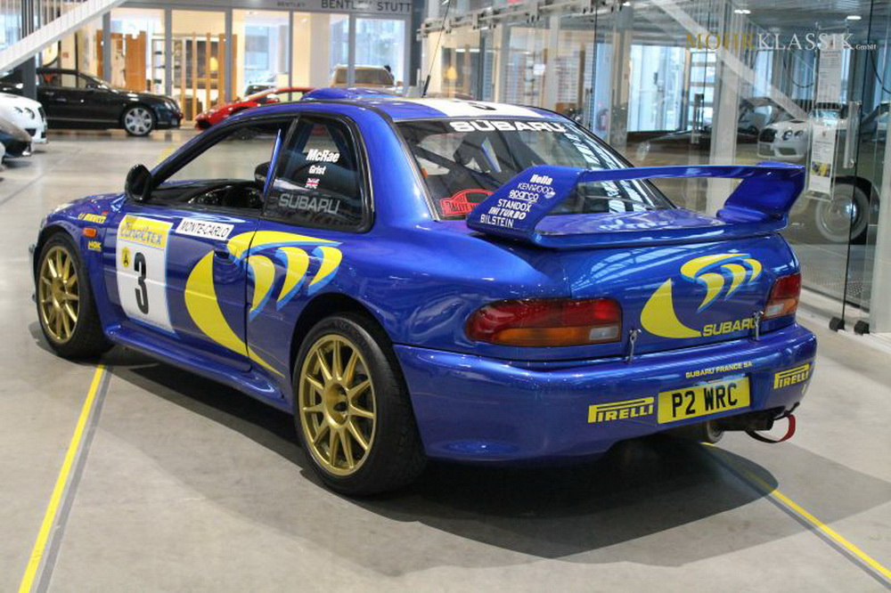 Colin McRae\'s 1997 Subaru Impreza WRC Is Up For Sale | carscoops.com