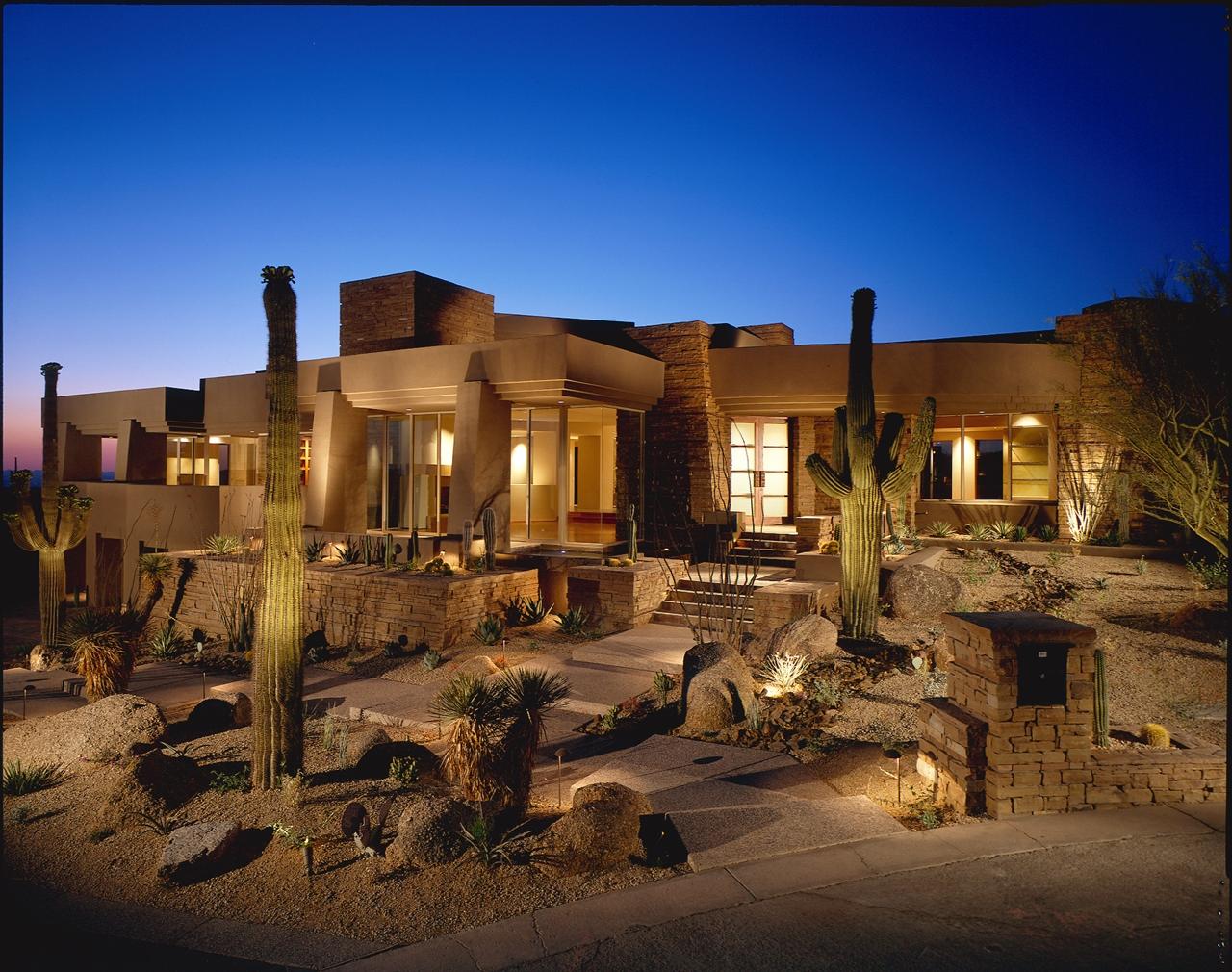 Modern Cabinet Modern Desert House For Luxury Life In The
