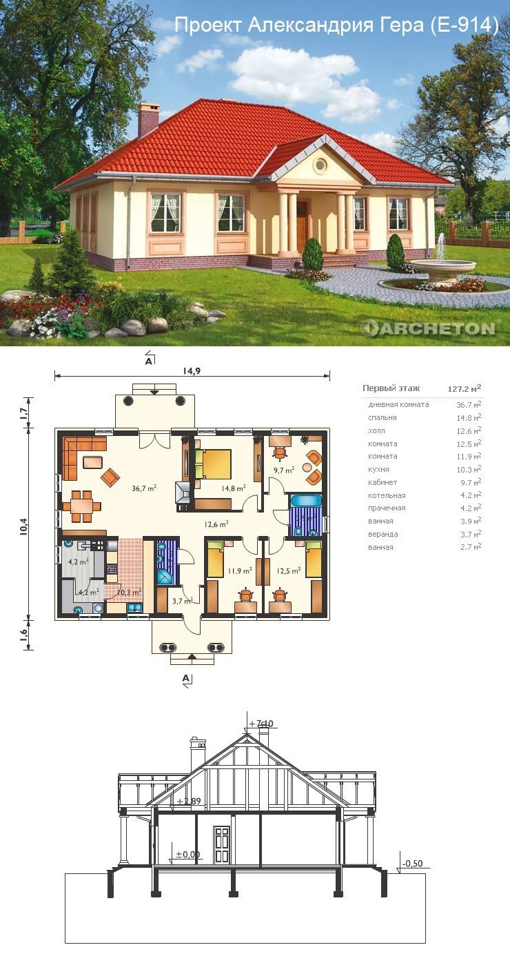 Проекты дома ключ