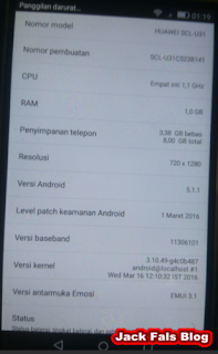 Cara Mudah Fix Imei dan Baseband Huawei Y6 SCL U31 Qualcomm (Tested