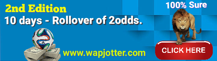 2nd Edition: 10 Days Ultimate Rollover of 2odds  - Wapjotter: I c t