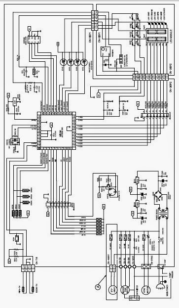 Wiring Diagram For Ge Air Conditioner : General electric wiring diagram motor automotivegarage