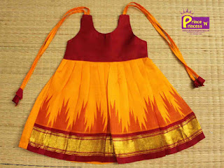 New born Pure Silk Frock