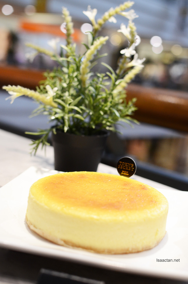 Tokyo Secret's newest offering, the Original Cheesecake