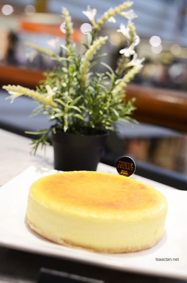 Tokyo Secret's newest offering, the Original Cheesecake