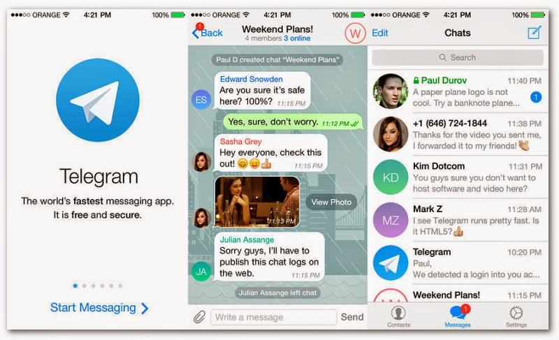 Telegram for PC Download-Windows7/8/MAC and Android apk ...