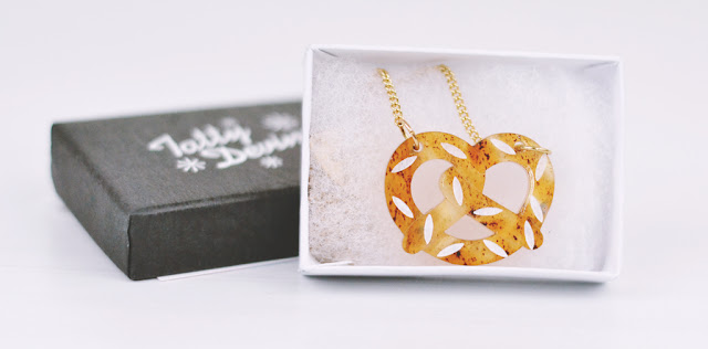Tatty Devine Pretzel Necklace Giveaway Competition