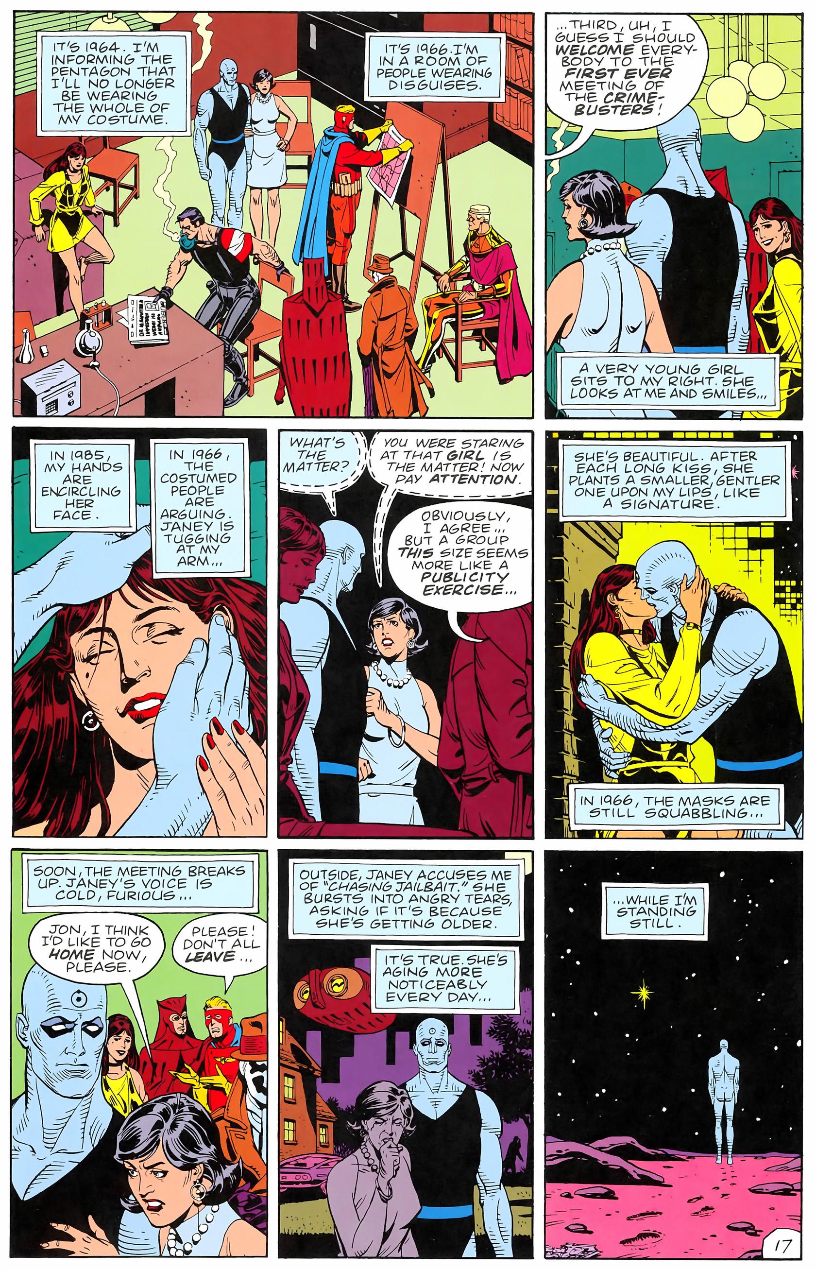 Watchmen (1986) issue 4 - Page 19