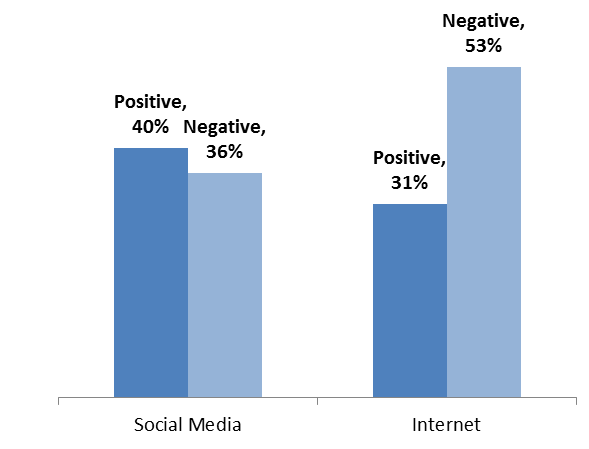 negative effect of internet adults teenagers