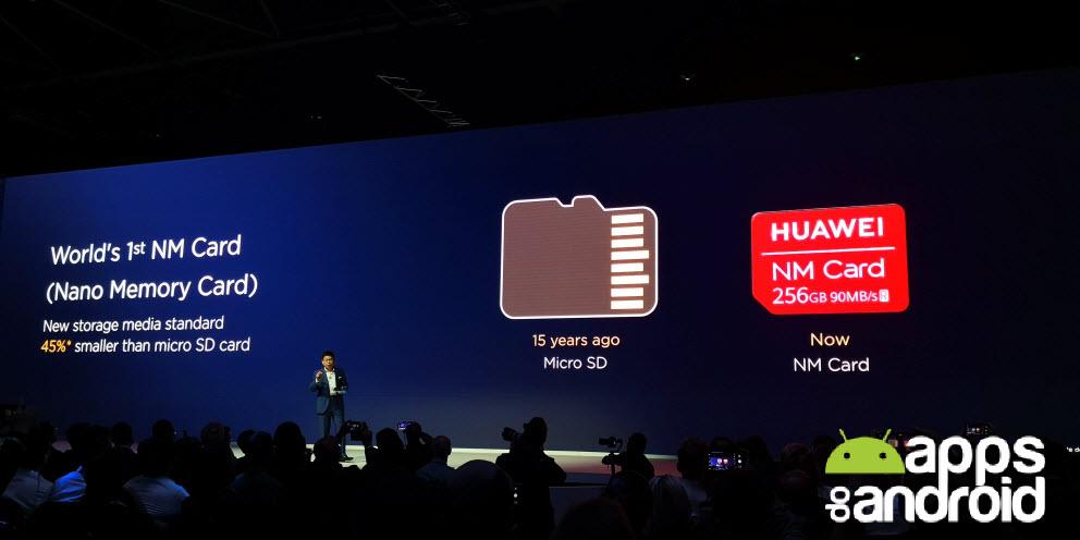Huawei lança cartões NM Card mais pequenos que Micro SD ~ Apps