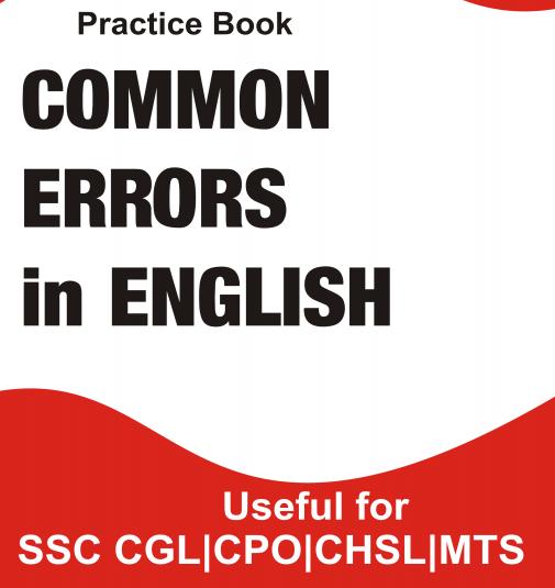 Common Errors in English (Practice Book) Download PDF