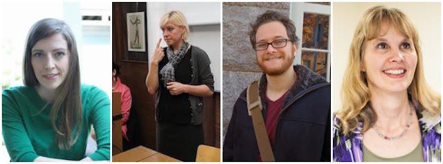 Naome Caselli, Zed Sevcikova, Ariel Cohen-Goldberg y Karen Emmorey, investigadores de ASL-LEX