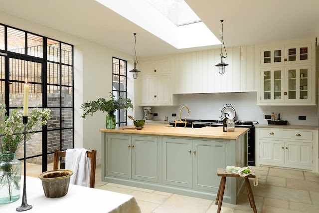 Modern Country Style: Modern Country Kitchen Lust!