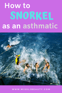 snorkel mask for an asthmatic