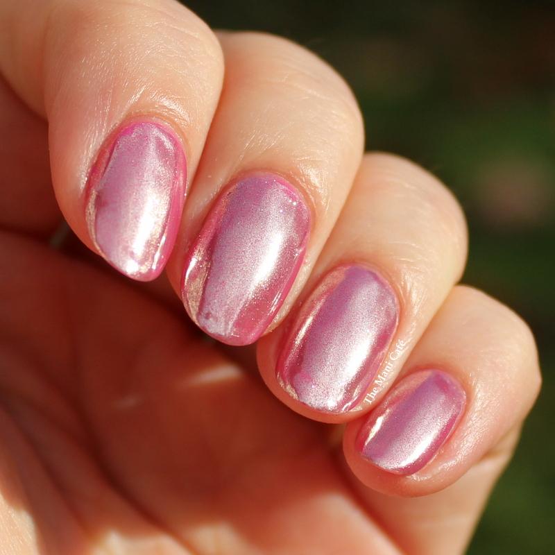 Pink Chrome Y Bits Mirror Effect Powder Over Le Mini Macaron Fraise Strawberry