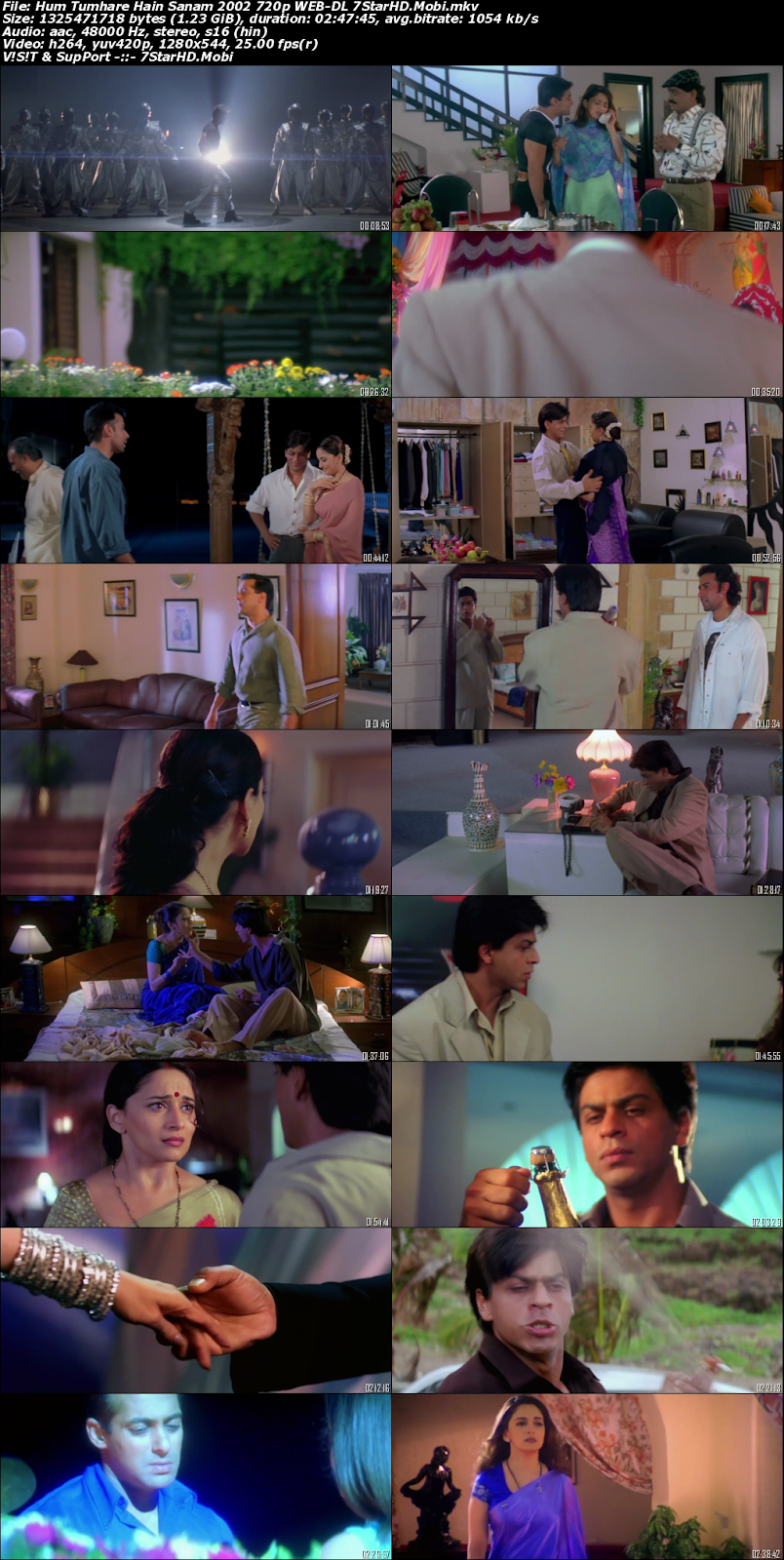 Hum Tumhare Hain Sanam 2002 Hindi 720p HDRip x264 1.2GB 2