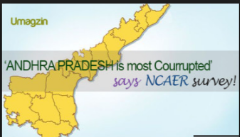 Andhra Pradesh State Tops in the List of Corruption