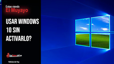 es necesario activar windows 10