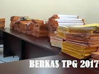 Berkas Tunjangan Profesi Guru (TPG) SD dan SMP 2017