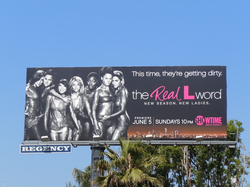 The Real L Word 2 TV billboard
