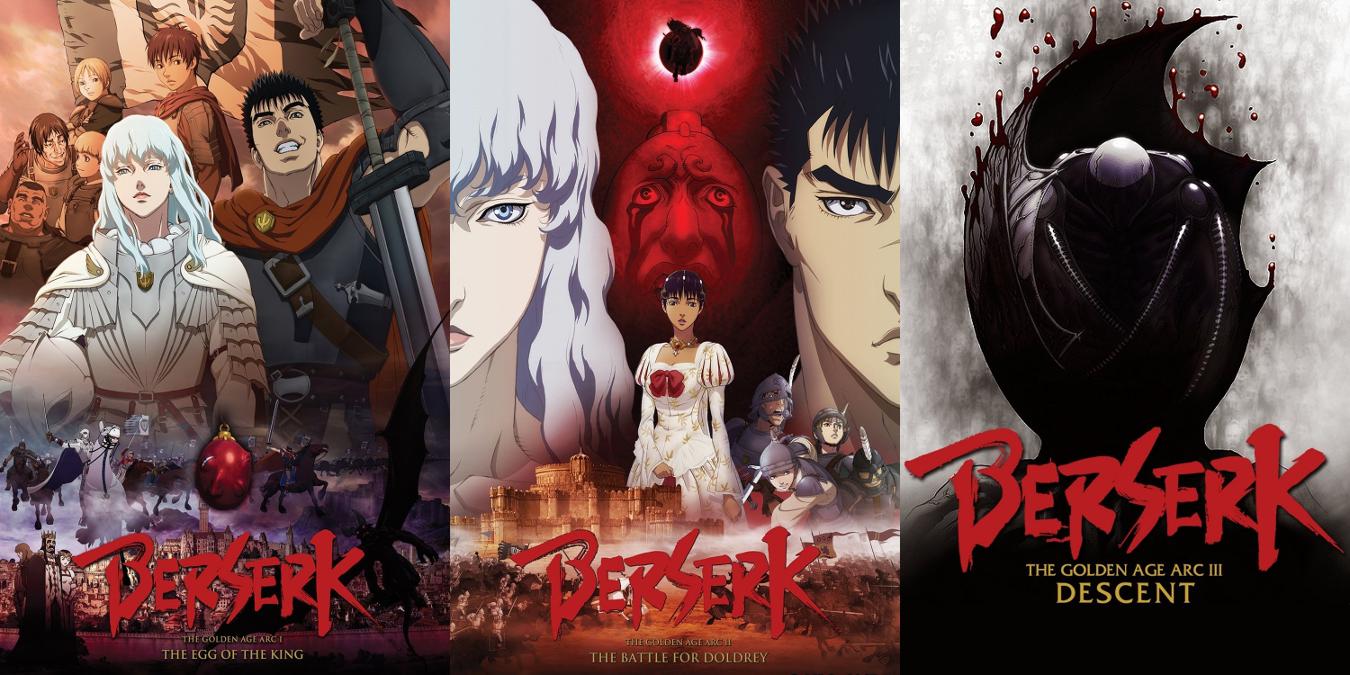 Berserk: La Edad de Oro anime films - Selecta Visión