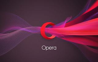 Logo baru Opera