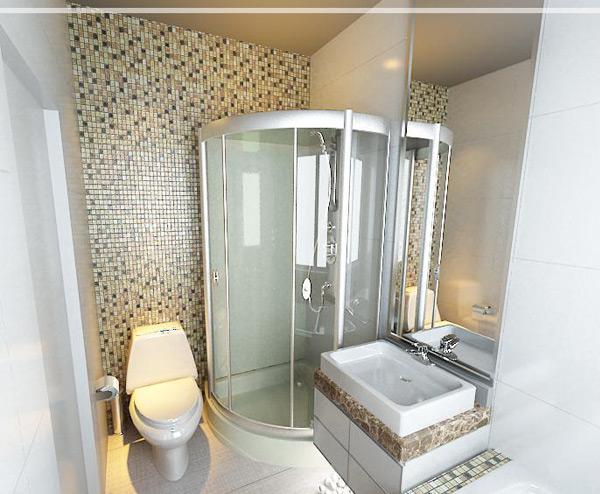 Inspirasi Desain Interior kamar Mandi dengan Shower Room untuk Rumah Minimalis