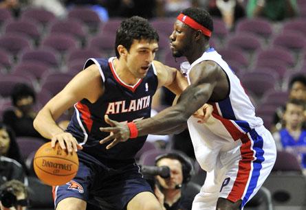 Zaza Pachulia vs Ben Wallace | PistonsFr, actualité des Detroit Pistons en France