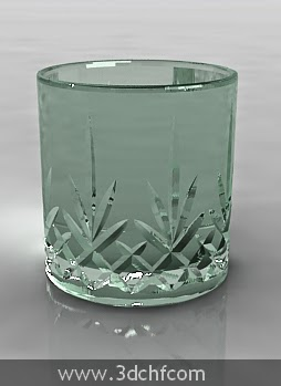 scotch glass 3d model
