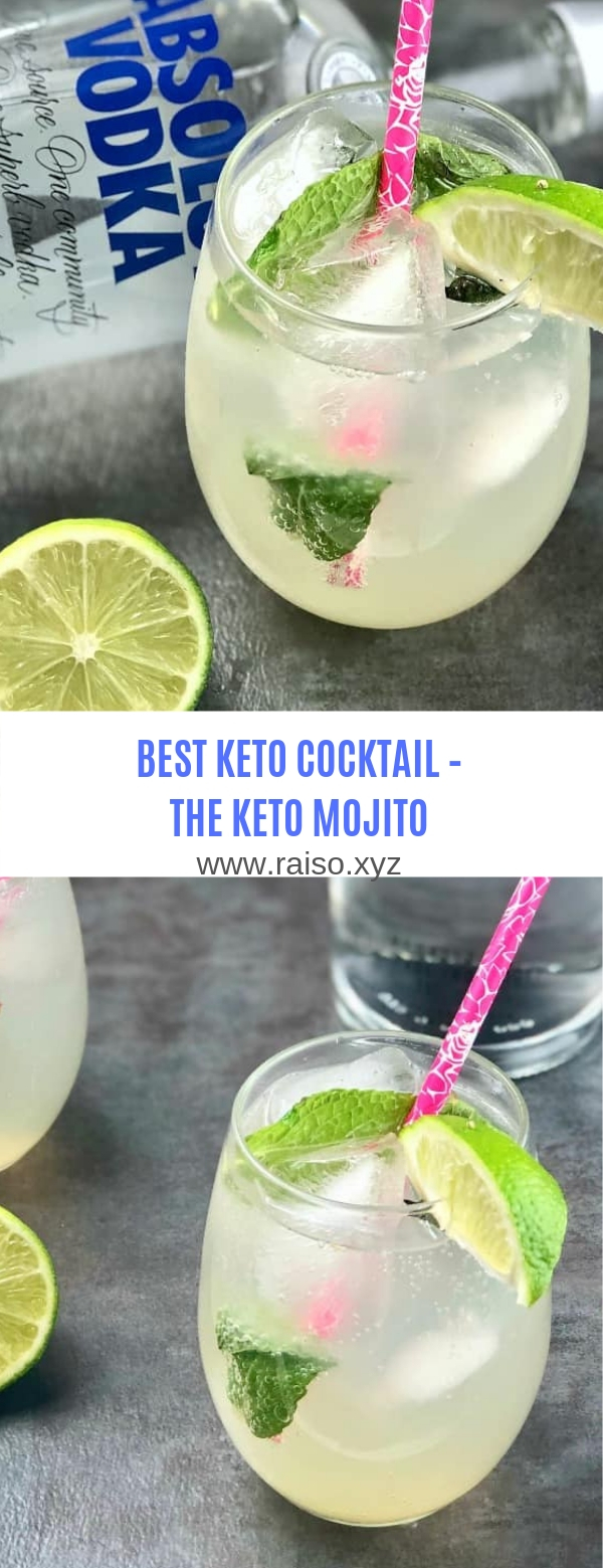 BEST KETO COCKTAIL – THE KETO MOJITO