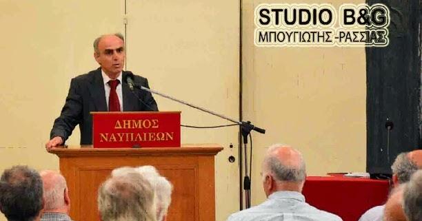Ο Γιώργος Γαβρήλος για Πνευματικό Κέντρο Λυγουριού και κτήριο παροχής συσσιτίων στο Ναύπλιο