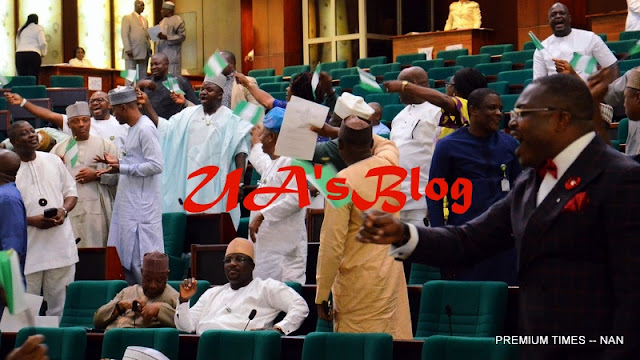 JUST IN: House Of Reps. In A Rowdy Session Over Calls For Impeachment Of President Buhari