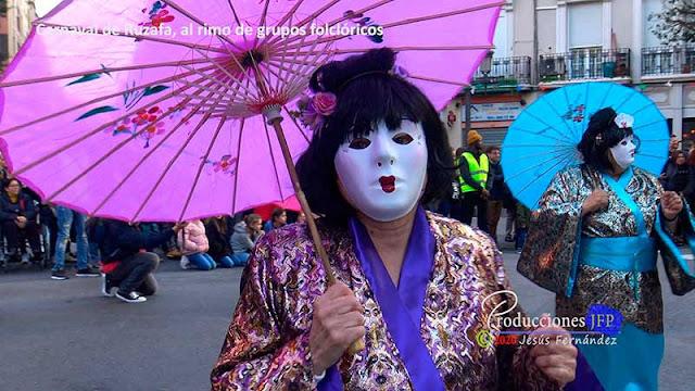 Carnaval de Ruzafa, al ritmo de grupos folclóricos