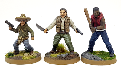 The Walking Dead All Out War Painted