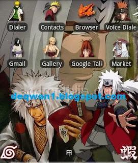 tema anime android terbaik 2018