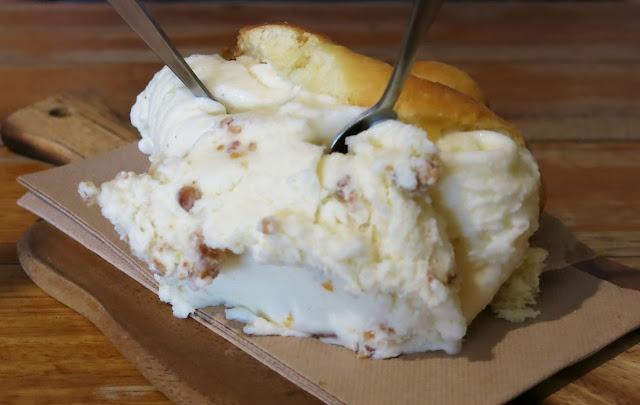 Il Melograno, Northcote, gelato brioche