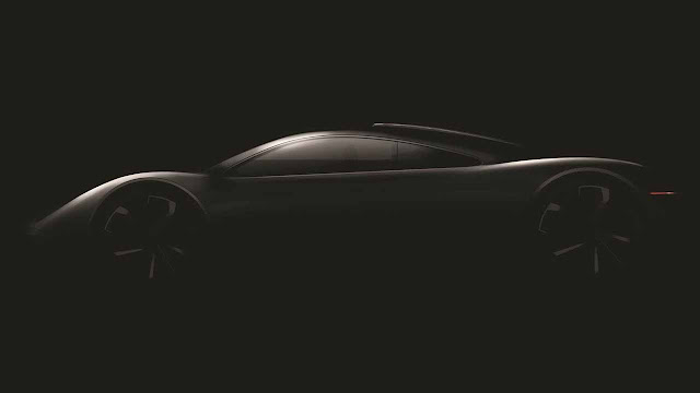 This is the first image of Gordon Murray's new supercar