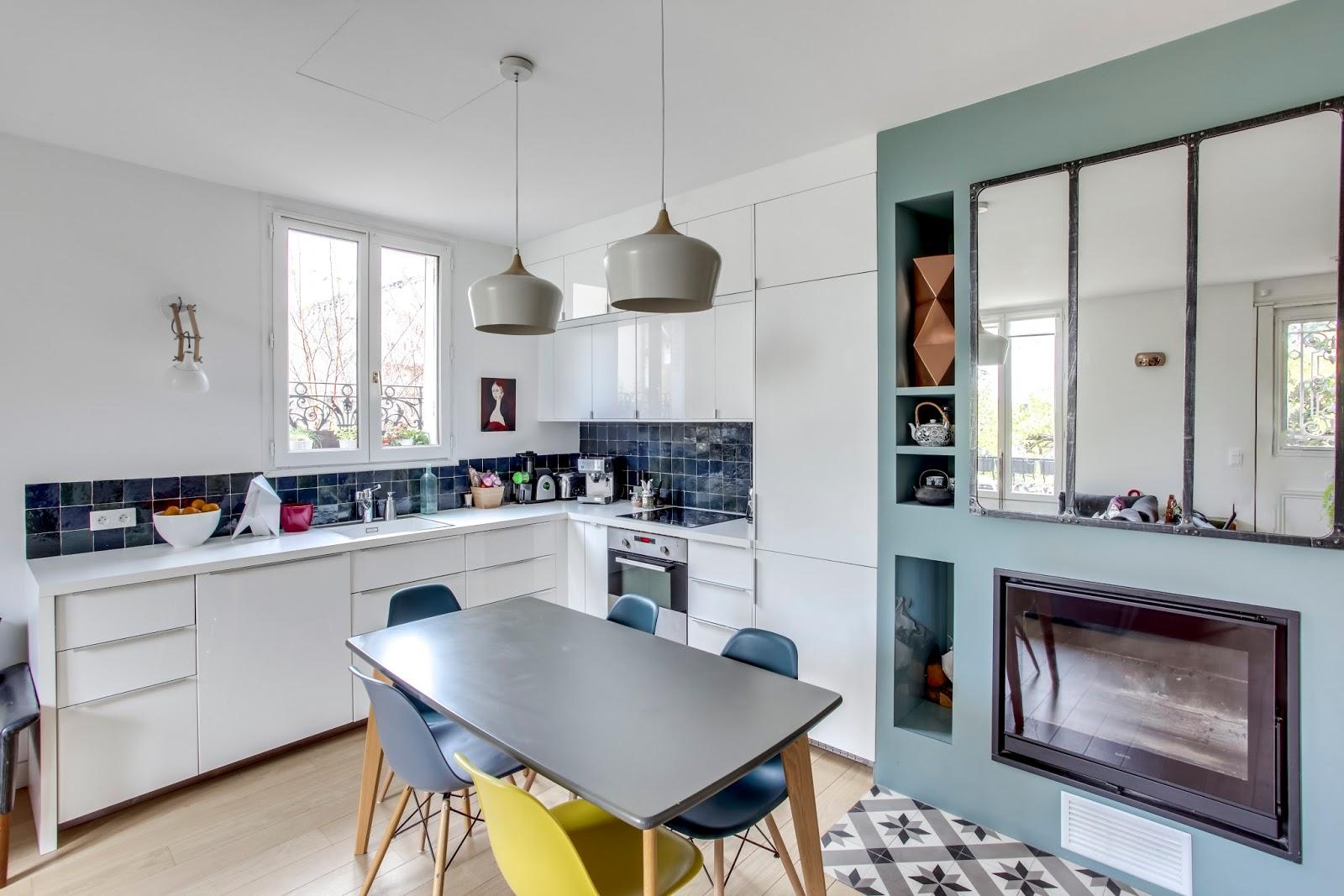 Rénovation et aménagement d\'une maison individuelle, Asnières sur ...