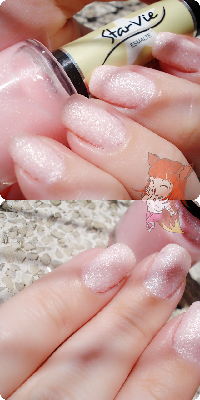 Esmalte Starvie :: Sand Rose Baby - Resenha #NailFail