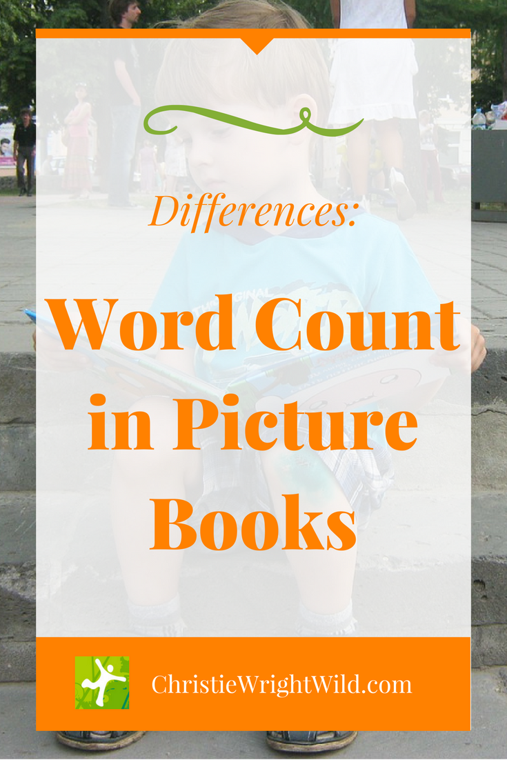 Write Wild Picture Book Length Differences And Word Count