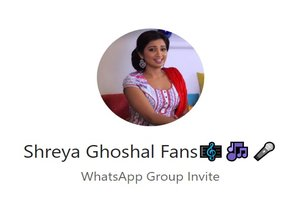 Shreya Ghoshal WhatsApp Group Link Of 2018